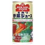 ヒカリ 野菜ジュース(無塩) 190g