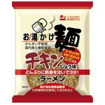 創健社 お湯かけ麺 チキン醤油ラーメン 75g