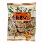 創健社 五穀せんべい 醤油味 90g