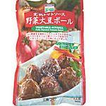 三育フーズ 完熟トマトソース野菜大豆ボール 100g