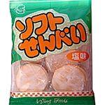 ウイングフーズ ソフトせんべい塩味 2枚×6袋