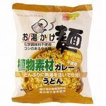 創健社 お湯かけ麺 植物素材カレーうどん 81g