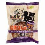 創健社 お湯かけ麺 鳥南ばん味そば 71g(めん60g)