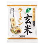 オーサワジャパン オーサワのベジ玄米ラーメン(みそ) 118g(うち麺80g)