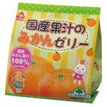 サンコー 国産果汁のみかんゼリー 22g×6