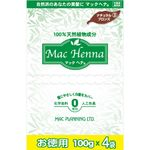 マックプランニング マックヘナ お徳用(ナチュラルブロンズ)―3 400g(100g×4袋)