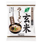 オーサワジャパン オーサワのベジ玄米ラーメン(ごまみそ) 119g(うち麺80g)