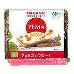 ミトク PEMA 有機全粒ライ麦パン(フォルコンブロート)  375g(6枚入)