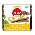ミトク PEMA 有機全粒ライ麦パン(フォルコンブロート&チアシード) 375g(6枚入)