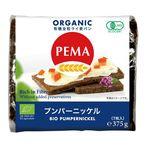 ミトク PEMA 有機全粒ライ麦パン(プンパーニッケル) 375g(7枚入)