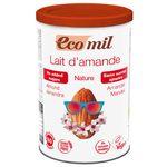 プレマ EcoMil(エコミル) 有機アーモンドミルクストレート (パウダー/砂糖不使用)400g