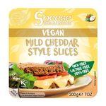 エディフィック スライスシーズ(植物性チーズ) マイルドチェダースタイル(冷蔵)200g