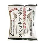 深川油脂工業 北海道産こめ油で揚げたポテトチップス(うす塩味) 60g