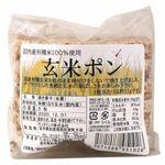 サンタランド 国内産有機米100%使用 玄米ポン 5枚