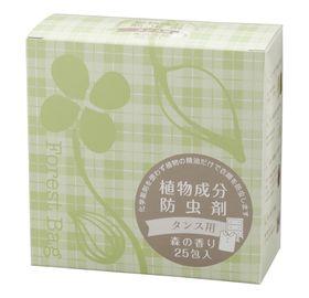 生活アートクラブ 植物成分防虫剤(タンス用) 25個入(3g×25)