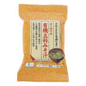 オーサワジャパン オーサワの有機立科みそ汁 1食分