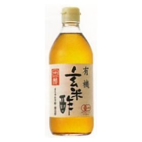 内堀醸造 有機・玄米酢 500ml