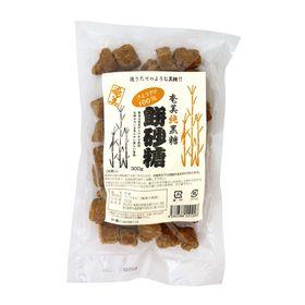 奄美自然食本舗 奄美 純黒糖餅砂糖 300g