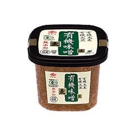チョーコー醤油 有機味噌 麦 500g