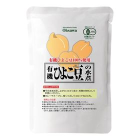 オーサワジャパン 有機ひよこ豆の水煮 230g