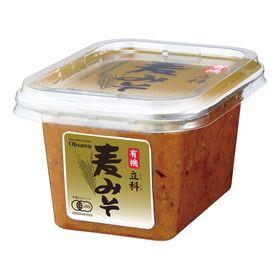 オーサワジャパン 有機立科麦みそ(カップ) 300g
