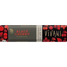 アスプルンド VIVANI オーガニックダークチョコレートバー ブラックチェリー 35g