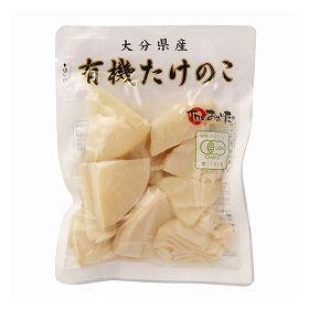 クローバー食品 国産有機竹の子スライス 100g