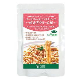 オーサワジャパン オーサワのべジパスタソース(明太子クリーム風) 160g