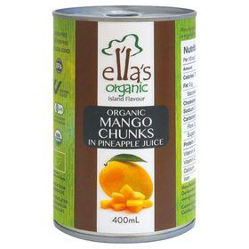 アスプルンド オーガニックマンゴー缶詰  400g(固形量230g)