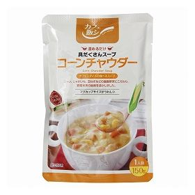麻布タカノ カフェ飯シ コーンチャウダー 150g
