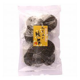 味泉 味旨小丸せんべい 黒胡麻 18枚