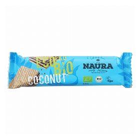 アスプルンド NAURA オーガニックワッフルバー(ココナッツ) 30g