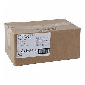 創健社 業務用 ジロロモーニ デュラム小麦 有機スパゲッティ 5kg