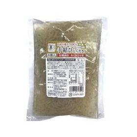 中尾食品工業 国産有機生芋100%の手結びしらたき 4個
