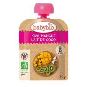 ミトク baby bio有機ベビースムージーキウイ・マンゴー・ココナッツ 90g
