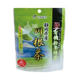 丸善製茶 有機粉末緑茶 静岡県産川根茶 40g