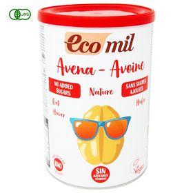 EcoMil(エコミル) 有機オーツ麦ミルク 糖類無添加/パウダータイプ 400g