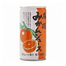 和歌山有機の会 有機みかんジュース 190g