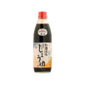 ヤマヒサ 頑固「本生」濃口醤油 500ml