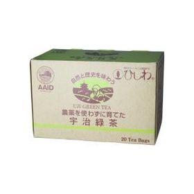 ひしわ 農薬を使わずに育てた宇治緑茶TB 36g(20袋)