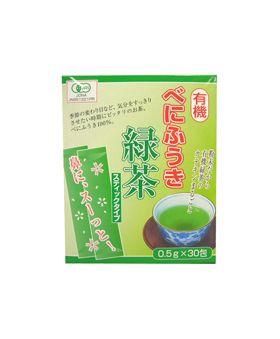 永田茶園 有機べにふうき緑茶(スティックタイプ)粉末  15g(0.5g×30包)