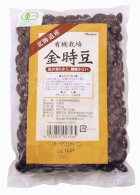 オーサワジャパン 有機栽培金時豆 300g